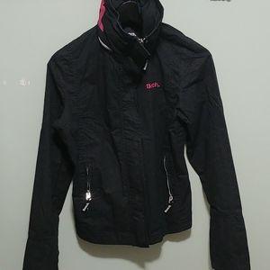 ✨Bench Black Logo Jacket Large